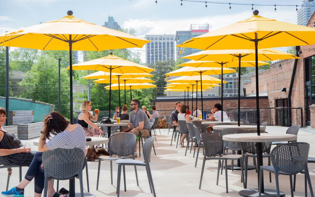 Transfer Co. Food Hall on List of Triangle's Best Outdoor Food & Drink
